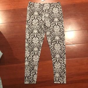 Epic Threads Girls Black and grey Leggings